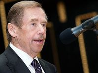 Václav Havel, photo: Tomáš Adamec, ČRo