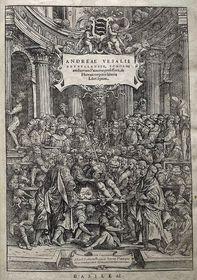 Vesalio: 'Fábrica del Cuerpo Humano'