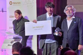 Jan Nekovář (uprostřed), foto: ČTK / Vít Šimánek
