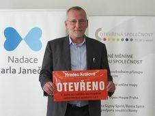 Le maire de Hradec Králové, Zdeněk Fink, photo: Facebook de l'association Otevřená společnost