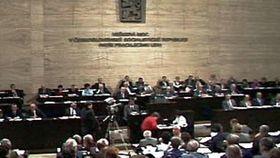 Parlamentssitzung (Foto: ČT24)
