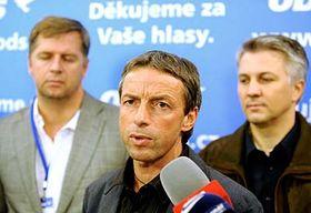 Павел Бэм (в центре) и Петр Бендл (слева) Фото: ЧТК
