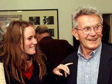 Jan Spata avec sa fille, photo: CTK