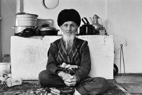 Der älteste Mitglied der kirgisischen Familie, in welcher Džulajová gelebt hat (Foto: Olga Džulajová)