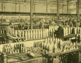 Stahlkonzern Krupp in Essen (Foto: Wikimedia Commons, Public Domain)