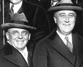 Антонин Чермак и Франклин Д. Рузвельт, Фото: Chicago Tribune historical photo