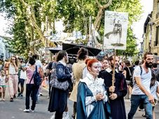 Festival d'Avignon, photo: Veronika Štefanová