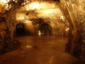 La grotte Výpustek, photo: Lasy, CC BY-SA 3.0 Unported