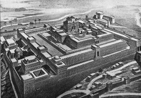 El Templo de Salomón, fuente: Wikimedia Commons, Public Domain