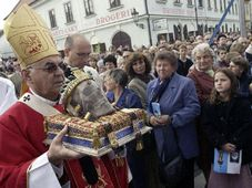 Namenstag des Heiligen Wenzels in Stara Boleslav (Foto: CTK)