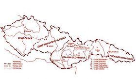Tschechoslowakei in 1922