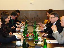 Victoria Nuland, Czech foreign minister Lubomír Zaorálek, photo: Robert Janás / Czech Foreign Ministry
