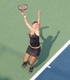 Nicole Vaidišová, US Open 2007, photo: Alexisrael, CC BY-SA 3.0 Unported