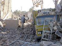Después del terremoto en Irán, foto: CTK