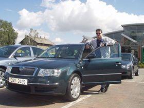 Na drahá auta si šéfové firem připlatí, na snímku Škoda Superb, foto: autor