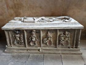 Grabmal Johanns Lobkowitz von Hassenstein (Foto: Maria Hammerich-Maier)