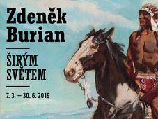 Zdeněk Burian, 'A travers le vaste monde'
