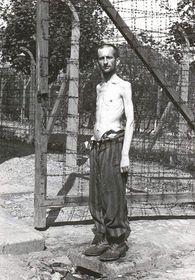 Häftling im KZ-Außenlager in Leitmeritz (Foto: Archiv der Gedenkstätte Theresienstadt)