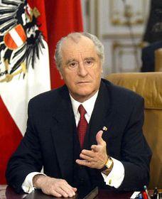 Thomas Klestil (na archivním snímku z9. dubna 2003), foto: ČTK