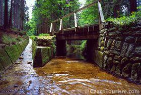 The Schwarzenberg timber canal, photo: www.czechtourism.com