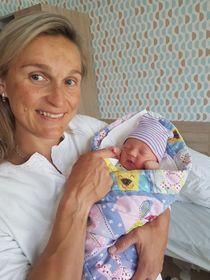 Barbora Špotáková with her son, photo: ČTK/PR/Archive of Barbora Špotáková