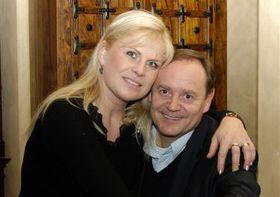 Jaroslav Pácha con su esposa Renata, foto: Chateau Catering