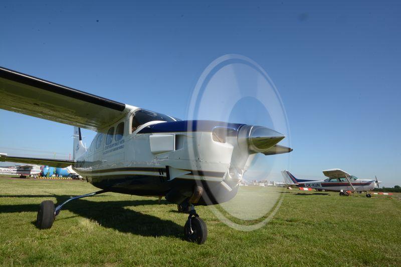 Cessna OK-TGM, foto: Eva Turečková