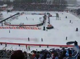 HC Pardubice - HC Kometa Brünn am 2. 1. 2011 (Foto: YouTube)