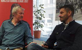 Pat Butcher et Guillaume Narguet, photo: archive de Guillaume Narguet