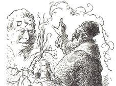 Le rabbin Loew et Golem par Mikoláš Aleš