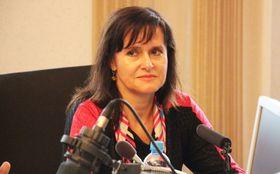 Radka Maxová, photo: Andrea Zahradníková, ČRo