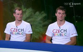Marek Šindler aJonáš Kašpar, foto: ČT Sport