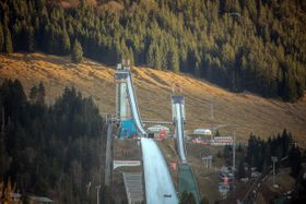 Sprunganlage in Oberstdorf (Foto: ČTK)