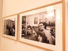 """Ausstellung """"Die Wendejahre in der Tschechoslowakei"""" (Foto: Klára Stejskalová)"""