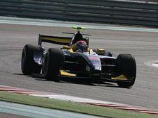 Josef Král, GP de Abu Dhabi de GP2