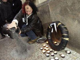 Студенты «похоронили» чешские вузы (Фото: ЧТК)