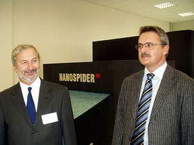 Oldrich Jirsak (links) und Ladislav Mares (Foto: Zdenek Valis)