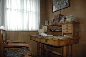 Karel Čapek's desk, photo: CTK