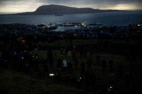 L'éclipse solaire sur les îles Féroé, photo: ČTK