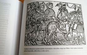 Jan Žižka, le redoutable aveugle, gravure sur bois, 1510