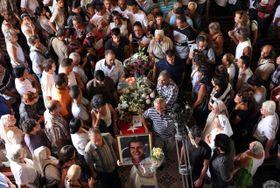 Funeral de Oswaldo Payá, foto: isifa / EPA / Alejandro Ernesto