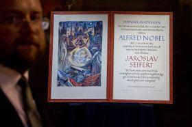 Лауреат Нобелевской премии по литература - Ярослав Сайферт (Фото: ЧТК)