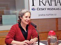 Táňa Fischerová, photo: Jan Profous, ČRo