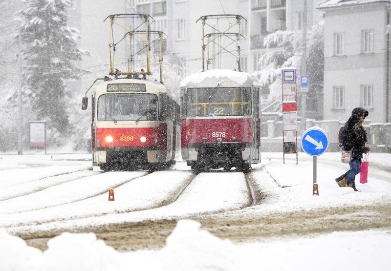 Tranvías en Praga, foto: ČTK / Roman Vondrouš