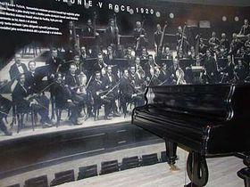 Piano de Bohuslav Martinů, foto: Martina Schneibergová