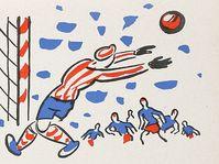'Les Onze de Klapzuba', l'illustration par Josef Čapek, photo: repro Eduard Bass, 'Klapzubova jedenáctka' / SNDK
