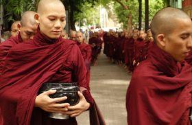 Los monjes en Myanmar, foto: BRJ INC. via Foter.com / CC BY-NC-ND