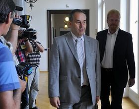 Jiří Schwarz et Tomáš Sedláček, photo: CTK
