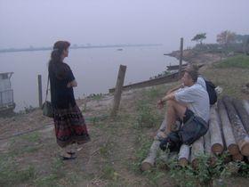 Pavel Fric con su esposa Yvonna (Foto: autora)