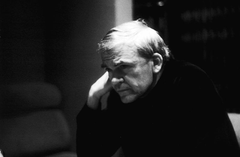 Milan Kundera, photo: Elisa Cabot, CC BY-SA 2.0